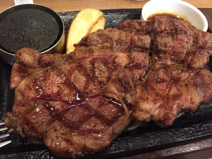 ステーキガストで熟成肉!